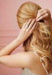 как можно уложить длинные волосы 5