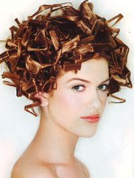 كيفية جعل تجعيد الشعر المكسور