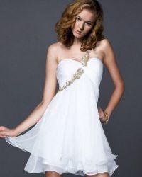 Короткие платья в греческом стиле