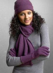 Как красиво завязать зимний шарф