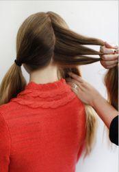 плетение косы вокруг головы 1
