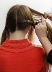 плетение косы вокруг головы 2