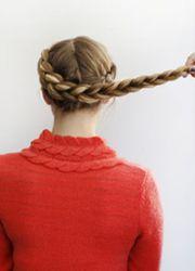 плетение косы вокруг головы 5