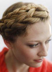 плетение косы вокруг головы 8