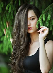 окрашивание волос басмой