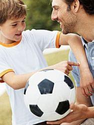 отдать ребенка в футбол