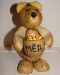 Поделки из картофеля на праздник осени фото