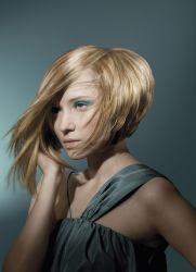 Coupe de cheveux pour le visage rond