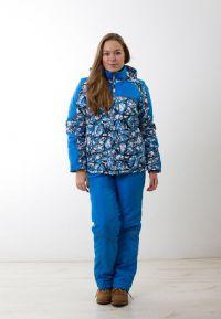 зимние комплекты для женщин куртка и брюки3