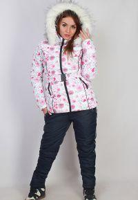 зимние комплекты для женщин куртка и брюки4