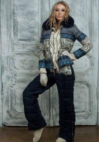 зимние комплекты для женщин куртка и брюки7
