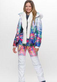 зимние комплекты для женщин куртка и брюки9