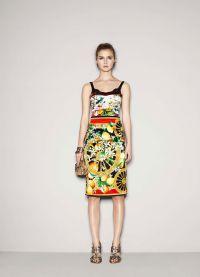 платье с лимонами дольче габбана 9