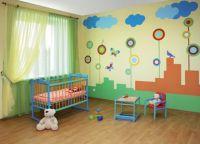 Как украсить детскую комнату своими руками10