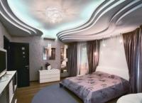 Красивые потолки из гипсокартона4