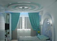 Красивые потолки из гипсокартона6