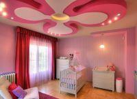 Красивые потолки из гипсокартона7