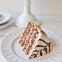 Оригинальный рецепт торта Эстерхази с шоколадным кремом