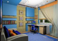 Дизайн подростковой комнаты5