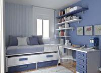 Дизайн подростковой комнаты6