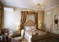 Спальня в классическом стиле6