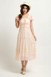 Летние платья с рукавами 5