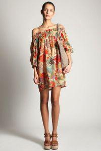 Летние платья с рукавами 6