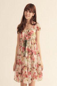 Летние платья с рукавами 8