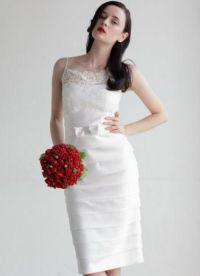 Узкие свадебные платья 1