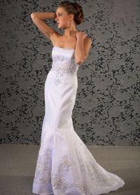 Узкие свадебные платья 3