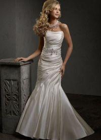 Узкие свадебные платья 4