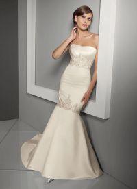 Узкие свадебные платья 5