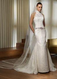 Узкие свадебные платья 6