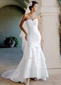 Узкие свадебные платья 7