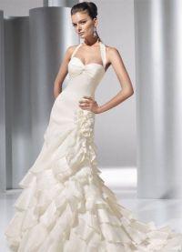 Узкие свадебные платья 8