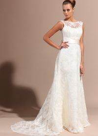Узкие свадебные платья 9