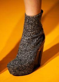 какая обувь в моде осенью 2013 1