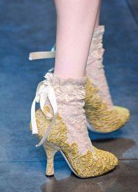 какая обувь в моде осенью 2013 6