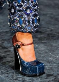 какая обувь в моде осенью 2013 7