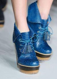 какая обувь в моде осенью 2013 9