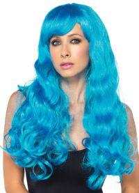 голубой парик 4