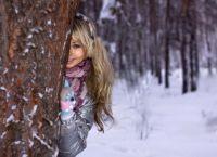Красивые позы для фотосессии зимой 5