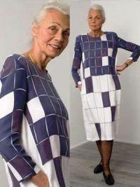 мода для пожилых женщин 2