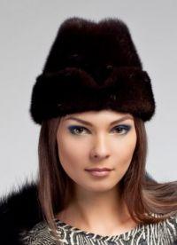 Модные меховые шапки 11