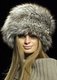Модные меховые шапки 4