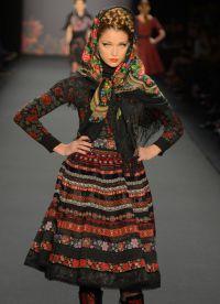 русский костюм и современная мода 4