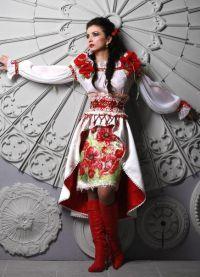 русский костюм и современная мода 6
