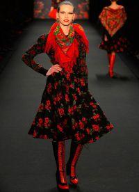 русский костюм и современная мода 8