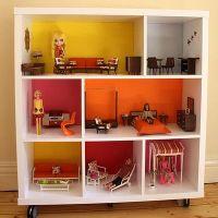 Мебель для кукольных домиков из картона своими руками фото 898