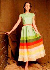 платье из льна в стиле бохо2